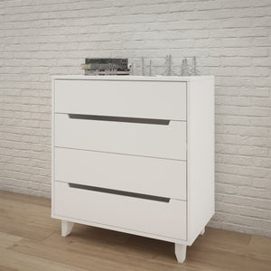 Caspian II 4-Drawer Changer | White