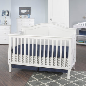 London 3-in-1 Convertible Crib | White