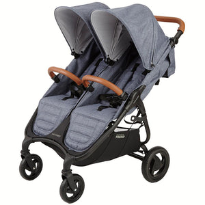 Valco Baby Trend Duo Double Stroller | Denim