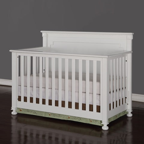 Devon Crib | White