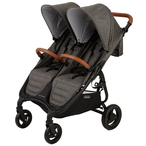 Valco Baby Trend Duo Double Stroller | Charcoal