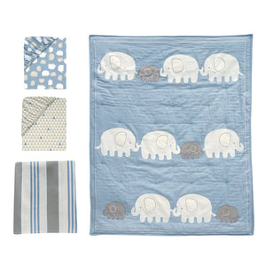 Elephant Friends | 4-Piece Bedding