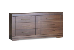 Étienne 6-Drawer Dresser | Brown
