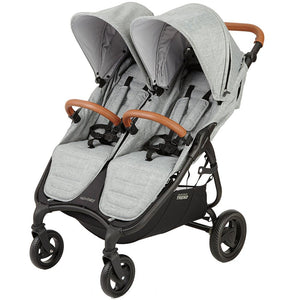 Valco Baby Trend Duo Double Stroller | Grey Marle