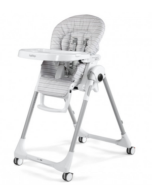 Peg Perego - High Chair Prima Pappa Zero 3 | Linear Grey