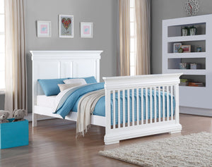 Bellini Convertible Crib | White