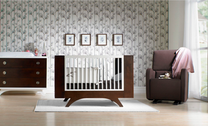 Dutailier Crib | Melon Dark