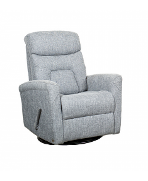 Milo Swivel Glider | Grey