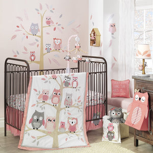 Owl Friends | 4-Piece Bedding