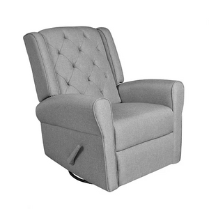 Louise Glider Recliner | Grey
