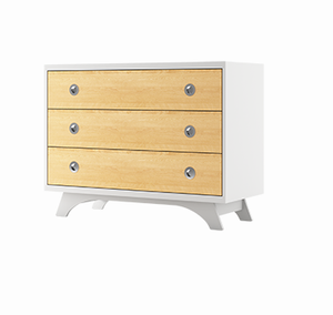 Dutailier 3-Drawer Chest | Melon