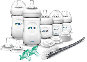 PHILIPS AVENT NATURAL NEWBORN STARTER SET WITH BOTTLES