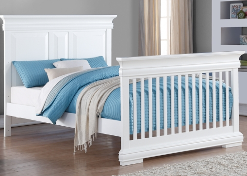 Bellini Converted Crib | White