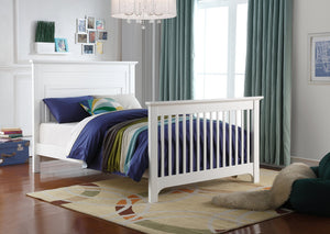 Ledger Converted Crib | White