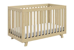 Sacha 3-1 Convertible Crib | Natural Finish