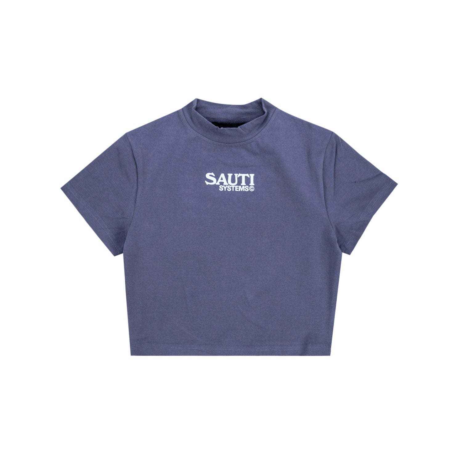 Sauti Mock Neck Crop Top