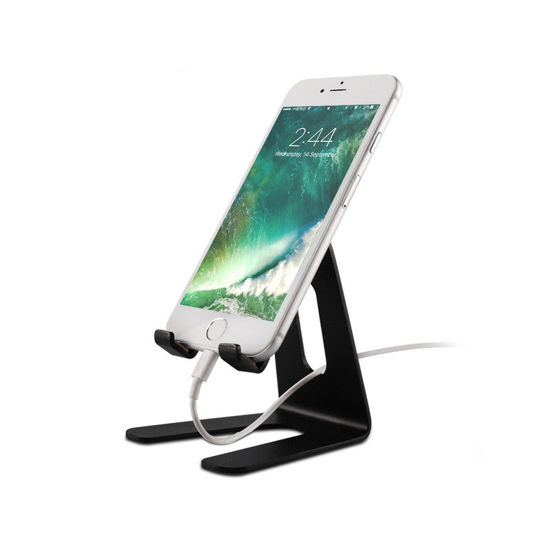 Black Aluminum Stand for iPhone & iPad