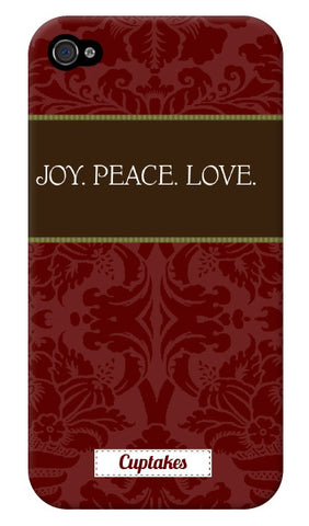 Joy. Peace. Love.