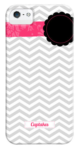 Banded Grey Chevron