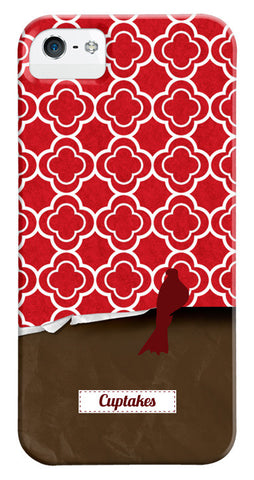 Red Quatrefoil