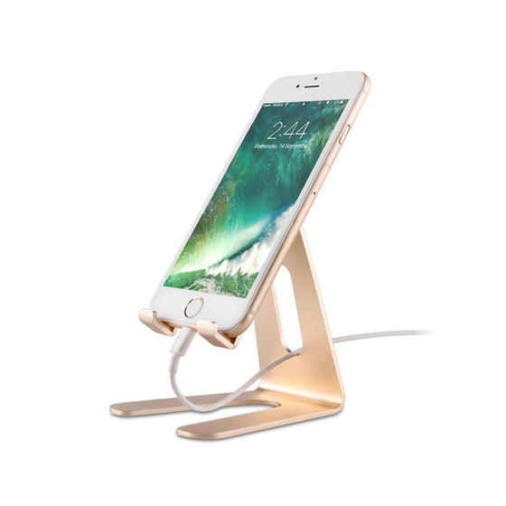 Gold Aluminum Stand for iPhone and iPad