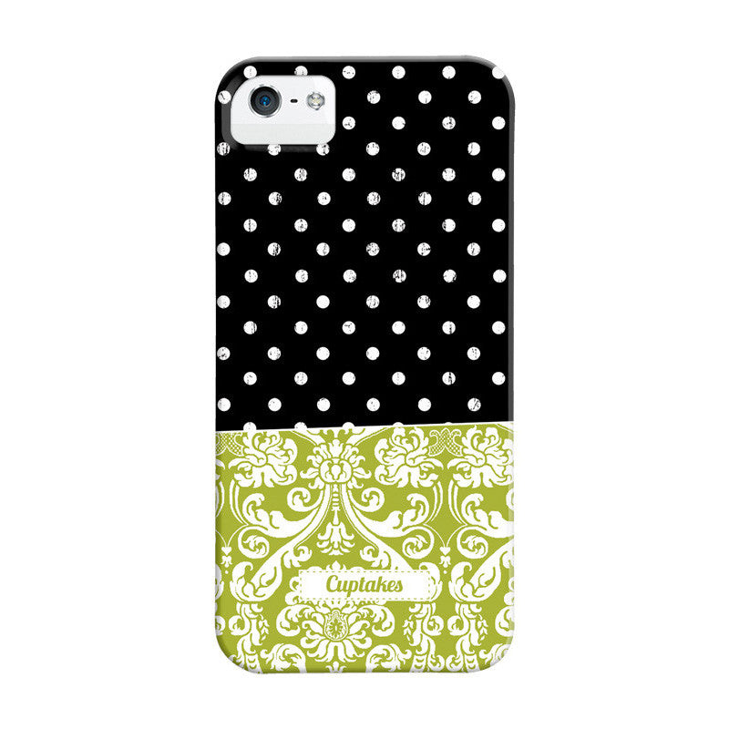 Dotted Damask for iPhone 5