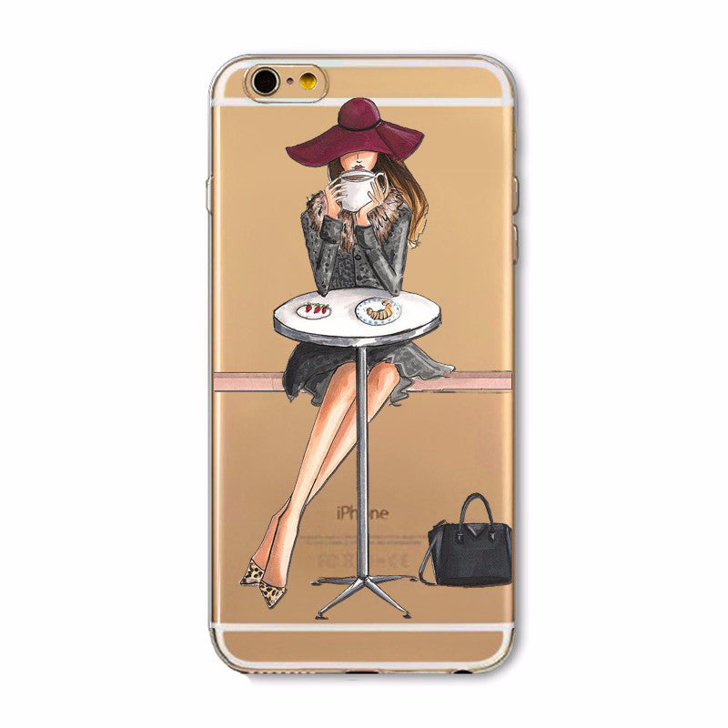 iPhone 7 Case - Cafe Time