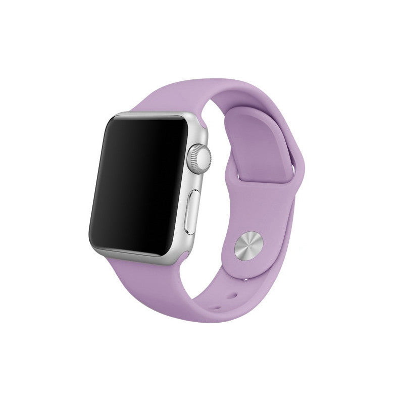Rubber Sport Band - Purple