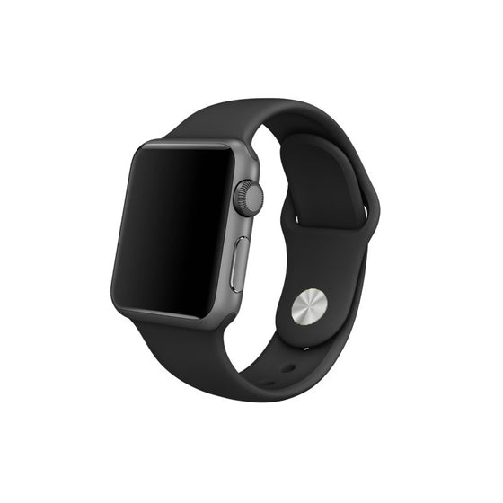 Rubber Sport Band - Black