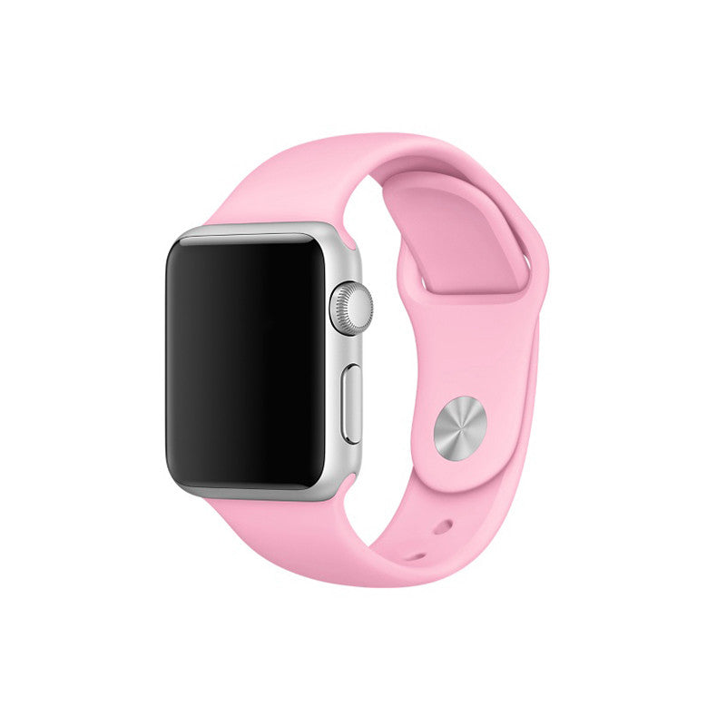 Rubber Sport Band - Pink