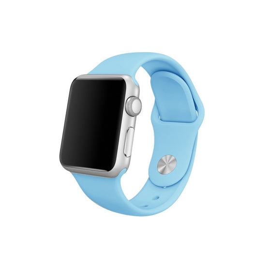 Rubber Sport Band - Turquoise
