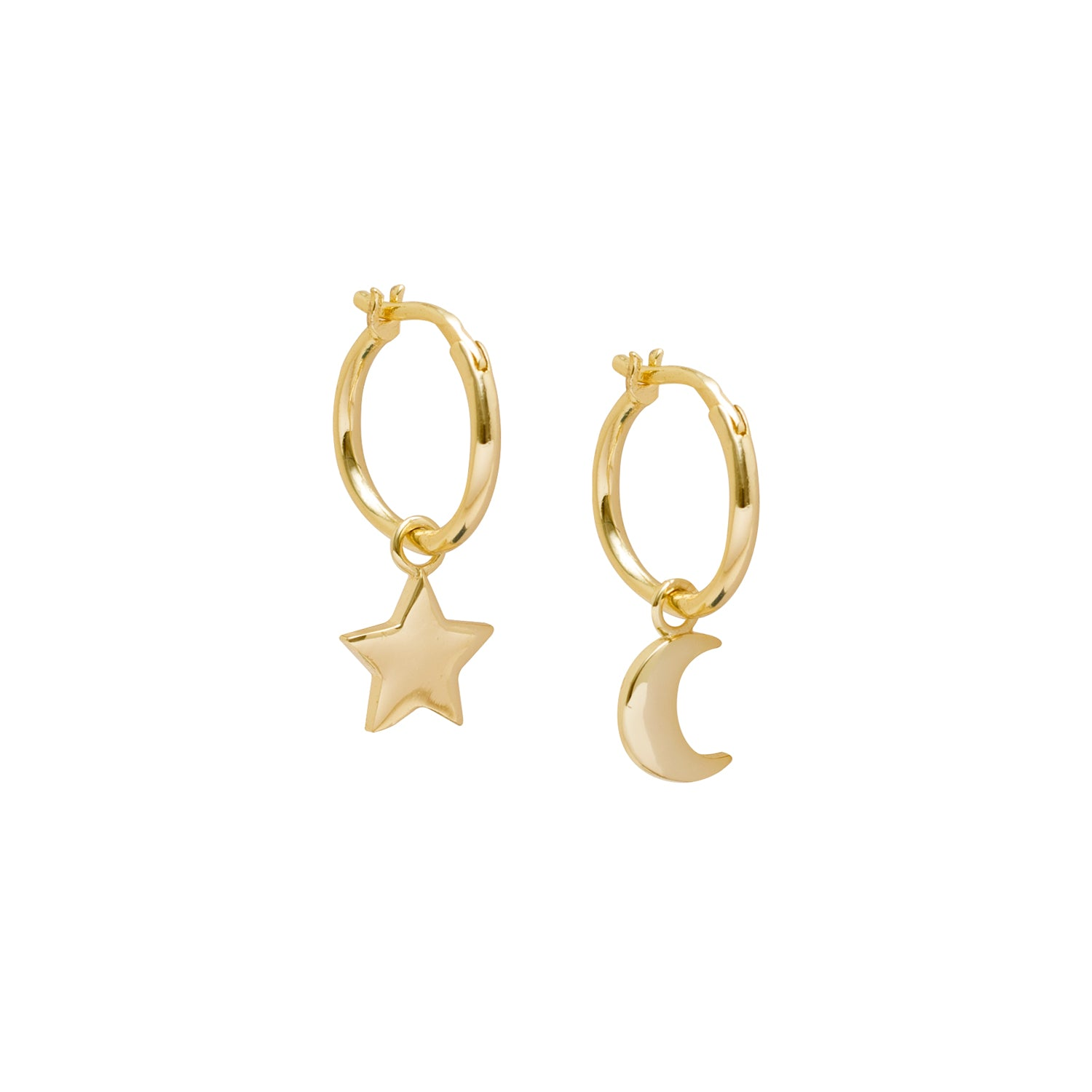 STAR MOON HOOPS