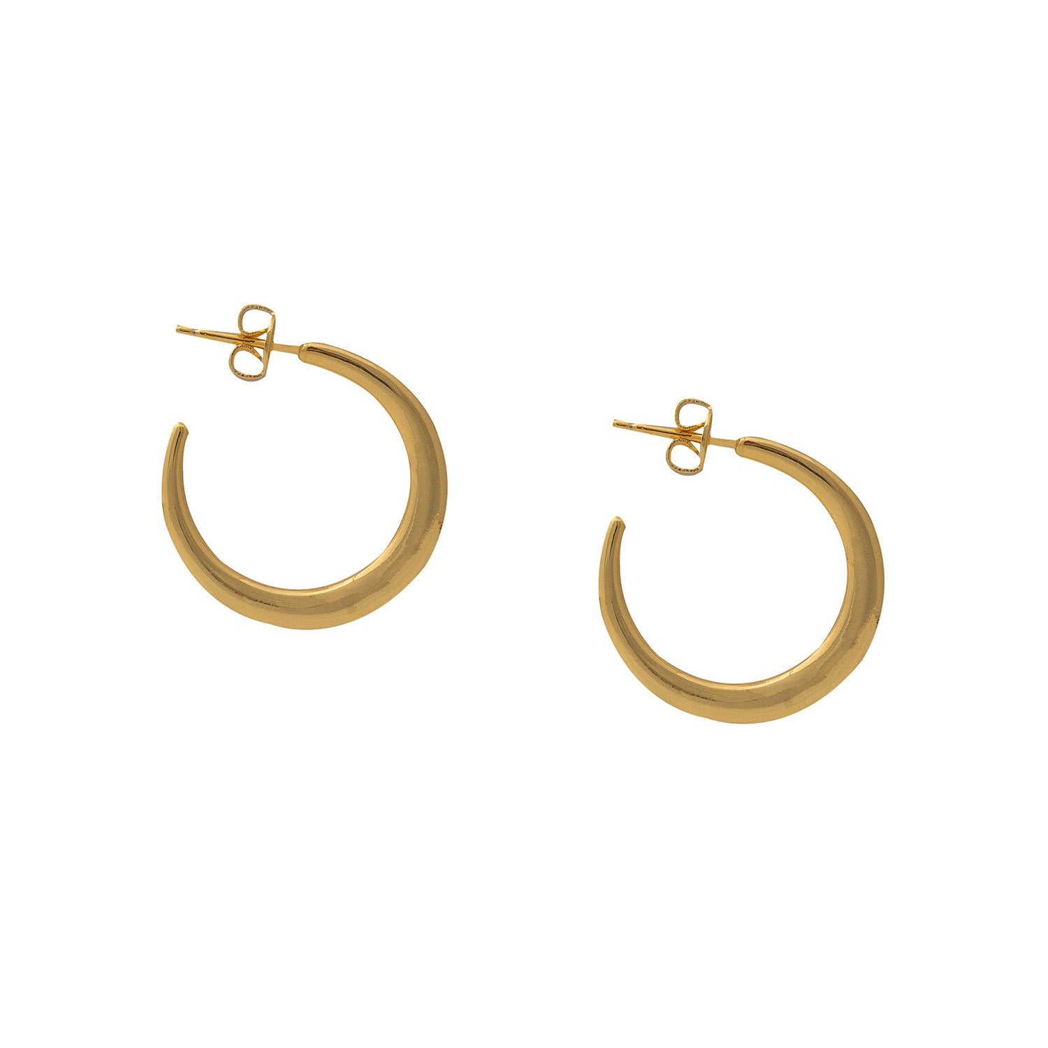 MONA GOLD HOOPS