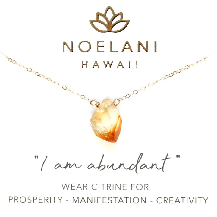Prosperity Citrine Necklace