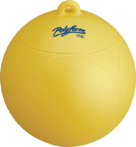 Polyform Slalom Buoy Yellow WS-1-YEL