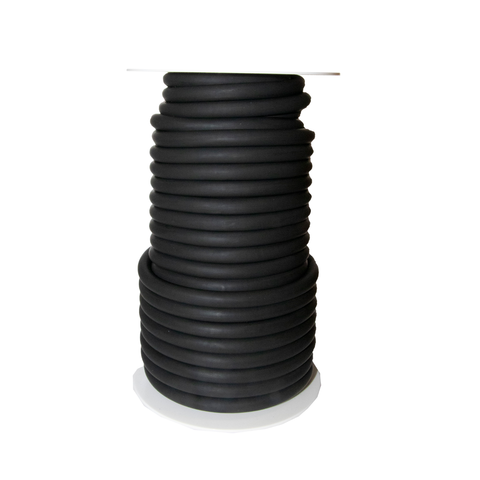 "Latex Tubing Spool 3/8""x50ft Black Ea"
