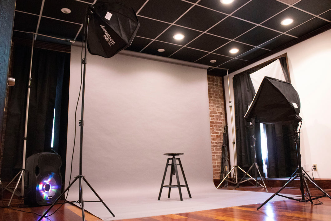 Photography Studio Rental  (No Photographer)