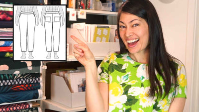 Pull-On Pants Patterns (Elastic for the Win!)