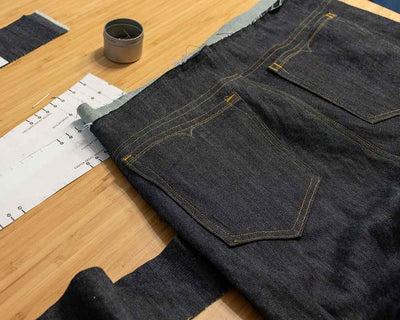 Sew Your Own Jeans at Home