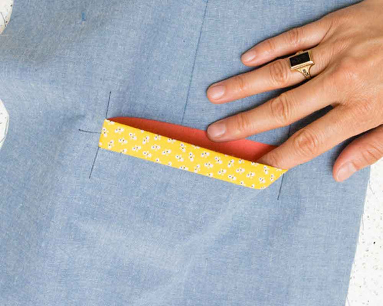 How To Make Welt Pockets With No Hand Sewing Workroom Social