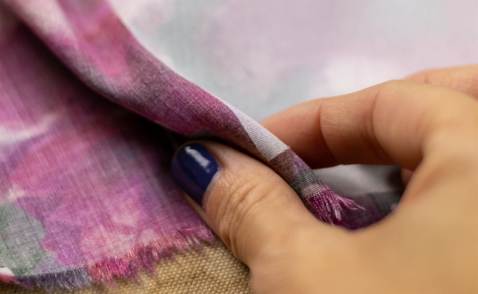 How to Block Fuse Fabric - Your fabric and interfacing should be fused together