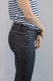 Claryville Jeans by Workroom Social - Mid-rise 5-pocket jeans sewing pattern