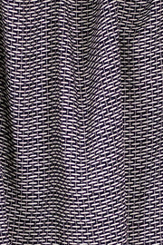 100% Rayon Challis - Weave Black and Gray - 1/4 yard