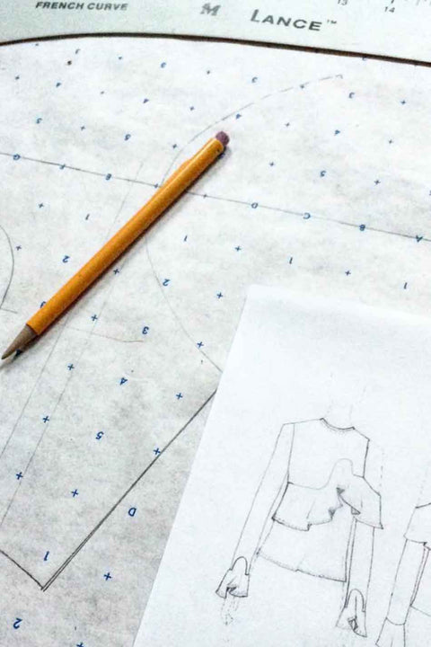 Patternmaking: Create Original Styles Using Pattern Blocks - Registration Deposit