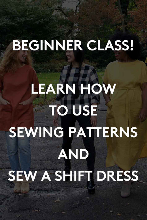 Intro to Garment Sewing - Registration Deposit