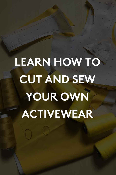 How to Sew Activewear - Registration Deposit