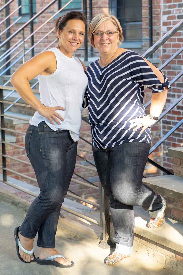 Claryville Jeans - Paper Sewing Pattern - 0-28