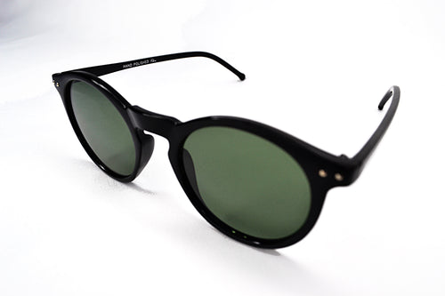 Sunglasses - Black Round