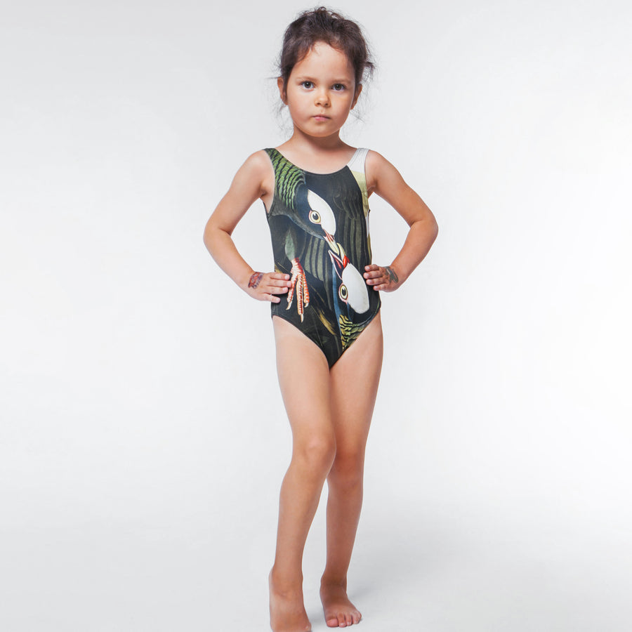 Pigeons - One-Piece Swimsuit