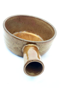 Brown Ceramic Plant Pot